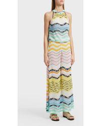 Missoni - Striped Crochet-knit Jumpsuit, Size It40, Women - Lyst