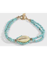 Isabel Marant - Shell Pendant Bracelet - Lyst