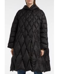Ienki Ienki - Pyramide Quilted Shell Down Coat, Size S, Women, Blue - Lyst