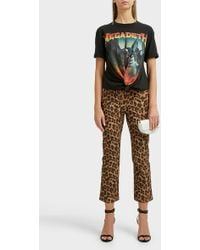 R13 - Megadeth Twist Cotton T-shirt - Lyst