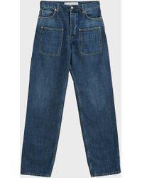 JW Anderson - Patch Pocket Jeans - Lyst