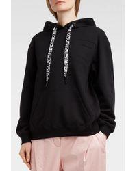 Proenza Schouler - Pswl Cotton-jersey Hooded Sweatshirt, Xs - Lyst