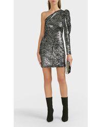 Alexandre Vauthier - Zebra-pattern Sequined Bodysuit - Lyst