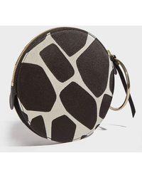 Sara Battaglia - Leather Round Bracelet Bag - Lyst