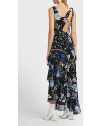 3.1 Phillip Lim - Floral Tier Silk Dress - Lyst