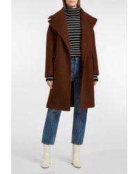 AF AGGER | Wool-bouclé Coat | Lyst