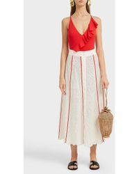 Marysia Swim - Elba Cotton Midi Skirt - Lyst
