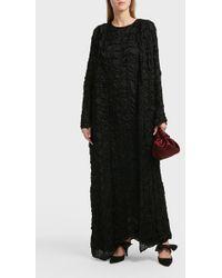 The Row - Gridcen Textured Silk Coat - Lyst
