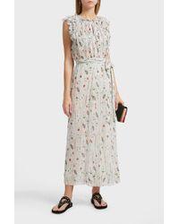 Étoile Isabel Marant Belina Printed Silk Skirt