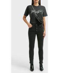 Anine Bing - Bing Glitter T-shirt - Lyst