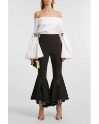 Ellery - Lopez Off-the-shoulder Cotton Top - Lyst