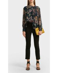 Isabel Marant - Ovida Cotton-blend Straight-leg Trousers - Lyst