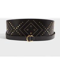 b251cbb86057 Isabel Marant Cajou Waist Belt in Black - Lyst