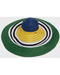 Missoni - Striped Straw Sunhat - Lyst