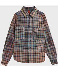 Missoni - Checked Cotton Shirt - Lyst