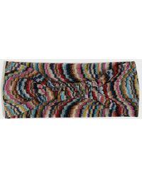 Missoni - Wave Print Lurex Headband - Lyst