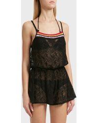 Missoni - Knitted Romper, Size It38, Women, Black - Lyst