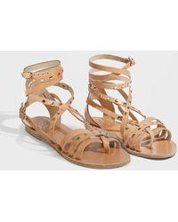 Ancient Greek Sandals - Satira Nails Sandals, Size It36, Women, Beige - Lyst