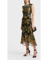 Peter Pilotto - Lace Detail Dress - Lyst