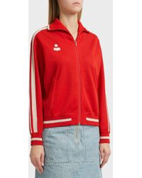 Étoile Isabel Marant - Darcy Zip Through Jacket, Size Fr38, Women, Red - Lyst