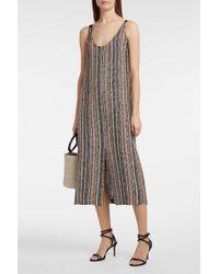 Rachel Comey Silk-trimmed Boucle Dress