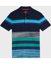 Missoni - Colour Block Polo T-shirt - Lyst