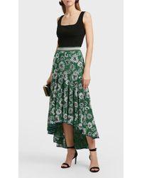 Missoni | Asymmetric Embroidered Metallic Stretch-knit Skirt | Lyst