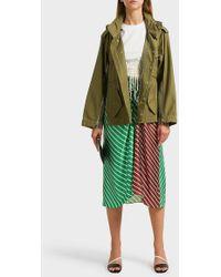 3.1 Phillip Lim - Hooded Cotton Jacket - Lyst