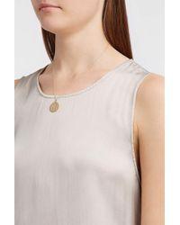 Brooke Gregson - Alphabet 14-karat Gold Diamond Necklace - Lyst