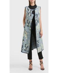 Isabel Marant - Lekness Printed Cotton Coat - Lyst