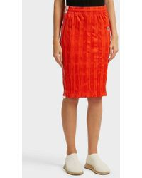 Alexander Wang - Crinkled-jersey Skirt, Size De36, Women - Lyst