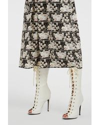 Giambattista Valli - Lace-up Leather Boots - Lyst