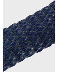 Missoni - Metallic Crochet-knit Headband - Lyst