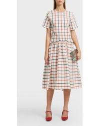 Rosie Assoulin - Ebbs And Flows Plaid Dress - Lyst