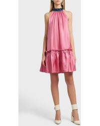 Roksanda | Elva High Neck Dress | Lyst