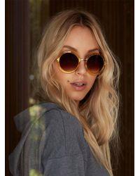 3f6ee33d47 Lyst - Ashley Stewart Marilyn Monroe Large Cat Eye Sunglasses in Black