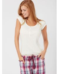 Boux Avenue - Mix & Match Ribbed Tee - Lyst