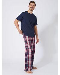 Boux Avenue - Mens Check Pyjama Set - Lyst