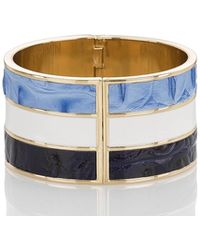 Brahmin - Fairhaven Inlay Cuff Jewelry - Lyst