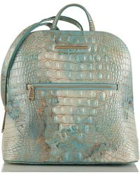 Brahmin - Felicity Serendipity Melbourne Embossed Leather Backpack - Lyst