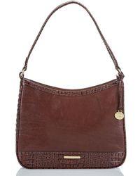 367349b0e3b9e4 Lyst - MICHAEL Michael Kors Quincy Large Shoulder Bag in Brown