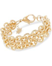 Brahmin - Smooth Twisted Layered Chain Bracelet Providence - Lyst