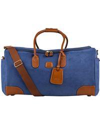 5c739e1151acf Polo Ralph Lauren Big Pony Reisetasche aus Segeltuch in Blau für ...