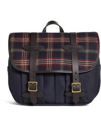 Brooks Brothers - Exclusive For Filson® Tartan And Canvas Messenger - Lyst