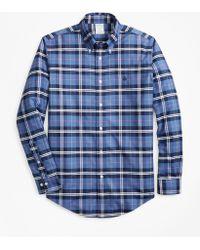 Brooks Brothers - Non-iron Madison Fit Plaid Sport Shirt - Lyst