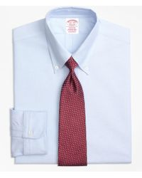 Brooks Brothers - Original Polo Button-down Oxford Relaxed Fit Relaxed-fit Dress Shirt - Lyst