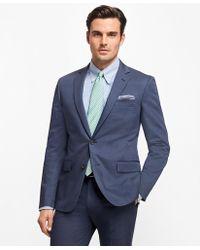 Brooks Brothers - Regent Fit Stretch Cotton Suit - Lyst