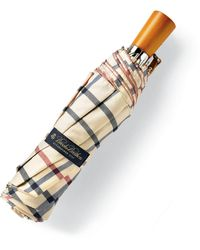 Brooks Brothers - Plaid Mini Umbrella - Lyst