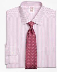 Brooks Brothers - Madison Classic-fit Dress Shirt, Non-iron Split Stripe - Lyst