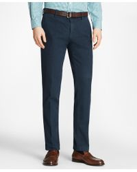 Brooks Brothers - Garment-dyed Stretch Broken Twill Chinos - Lyst
